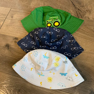 Baby Boy Summer Hat Bundle (Lot of 3)